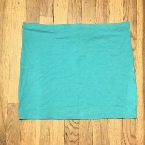 🦄 H&M Basic Skirt - Aqua Blue 🦄